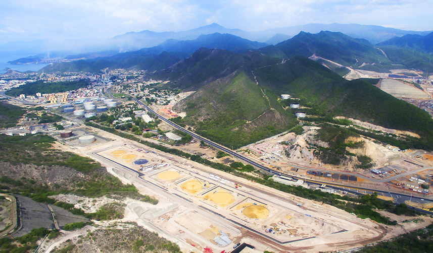 "Site Preparation Project of Puerto La Cruz Refinery of PDVSA Petróleo, S.A. (""PDVSA"") in Venezuela"