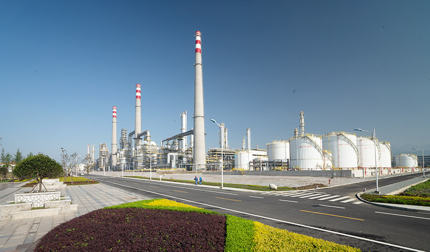 Petro China Sichuan Integrated Refinery and Petrochemical Complex